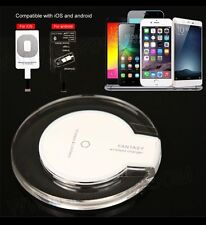 4 APPLE IPHONE 6/5S/5/5C Qi Wireless Charging Charger Pad Plate+Charger Receiver