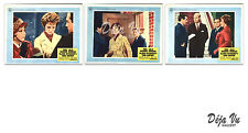 Torn Curtain Lobby Card Set of 3 - Andrews - Newman - Hitchcock - 1966 - VG