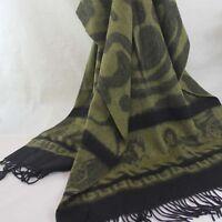 New Winter Women Man Jacquard Long Cashmere Wool Soft Warm Wrap Shawl Scarf 137