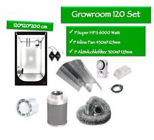 "Growbox Set ""Hydro Shoot 120"" 600 Watt (120*120*200cm)"