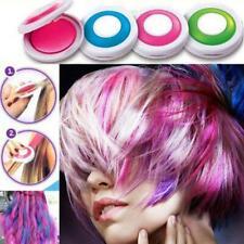 4 Colors Bright Temporary Hair Dye Powder Washable DIY Coloring Cream Chalk Set