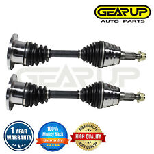 For Chevy GMC Silverado Sierra 1500 & 2500 HD 4X4 Front CV Drive Axle