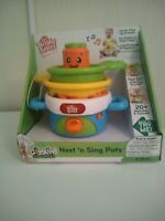 Bright Starts Nest N Sing Pots brand new
