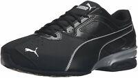 Puma Mens tazom 6 fm Low Top Lace Up Running Sneaker, Black, Size 13.0 hKAP