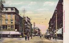 Antique POSTCARD c1905-07 Main Street South WORCESTER, MA MASS. Unused 13623