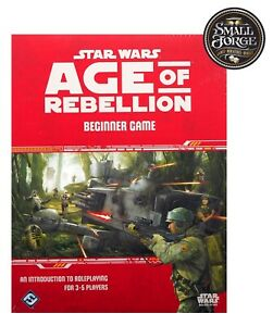 Star Wars: Age of Rebellion RPG - Beginners Game Complete - Brand NEW