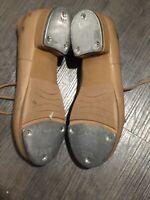 Bloch Brown Leather Techno Tap Dance Shoes Women's Sz 4.5 M