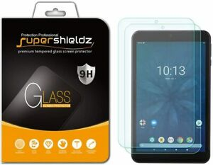 [2-Pack] Supershieldz Tempered Glass Screen Protector for Onn Tablet Pro 8 inch