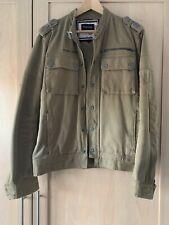 Firetrap Jean Army style Jacket Size Medium