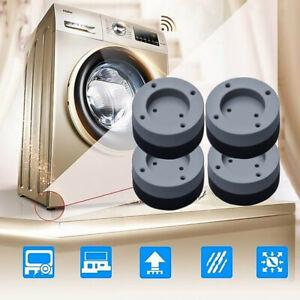 1/4X Anti Vibration Feet Pads Washing Machine Rubber Mat Pad Dryer Non-Slip UK