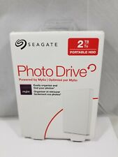 Seagate Portable HDD Backup Or Photo Drive 2TB, White, Powered by Mylio - USA