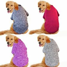 Winter Pet Dog Clothes for Large Dogs Warm Cotton Big Dog Hoodies Golden Retriev