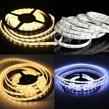 1M-20M 5M 3528 SMD LED Strip 300 Leds Light Flexible Controller DC 12V Adapter