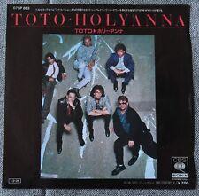 Toto, Holyanna / Mr friendly, SP - 45 tours  import Japon