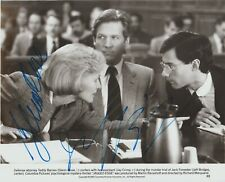 Jeff Bridges, Glenn Close, autograph