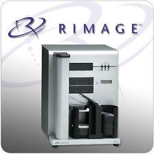 Rimage cd/dvd 2000i auto duplicateur et imprimante d'exploitation installation de logiciels disc