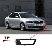 FOR SKODA OCTAVIA (5E) 2013-2017 NEW FRONT BUMPER FOGLIGHT GRILL LEFT N/S