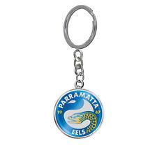 Parramatta Eels NRL Keyring Key Ring ENAMEL LOGO Man Cave Bar Fathers Day Gift