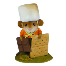 Wee Forest Folk S'MORE PLEASE, WFF# M-537, Halloween Costume Mouse