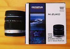Olympus M. Zuiko 9-18mm f/4.0-5.6 Lente ED