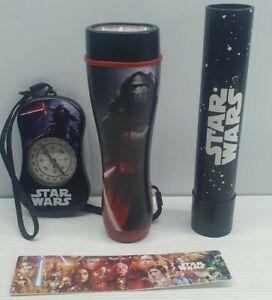 Star Wars force awakens Kylo Ren lot Torch, compass, ruler works