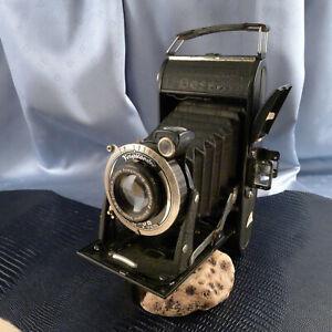 SAMMLERSTÜCK!! Antike Klappkamera VOIGTLÄNDER BESSA COMPUR Verschluss 1930er