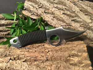 """Hand Forged Hunting Knife - """"The Eagle"""" Carbon Steel Blade"""