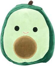 "NEW Squishmallow AUSTIN Avocado Green Smooth Belly Plush 16"" Cute NWT"