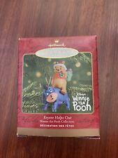 "Hallmark Keepsake Ornament - Winnie The Pooh - ""Eeyore Helps Out"" 2001"