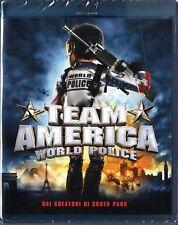 TEAM AMERICA (2004) BLU RAY DISC NUOVO!