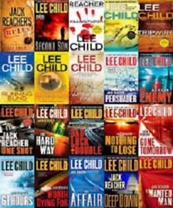 Jack Reacher - Lee Child - Audio Books -Talking Books-in MP3 on CD/DVD,