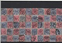 Germany early used Reichspost Stamps with good cancels Ref 14263
