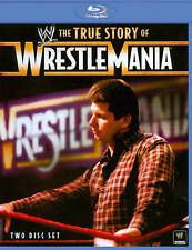 WWE: The True Story of WrestleMania [Blu-ray] Vince McMahon LIKE NEW !! MINT