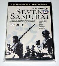 "Akira Kurosawa ""Seven Samurai"" 1954 Two Disc Edition Classic 2 Dvds"