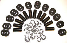 "12 Tattoo Machine 3/8"" Coil Cores With Blk Fiber Coil Core Washers  1"" coils"