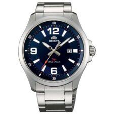 Orient Men's Silver Case Wristwatches