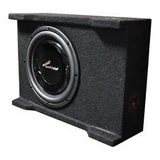 "Audiopipe Apsb-10Bdf Single 10"" Shallow Mount Downfire Loaded Enclosure 400"