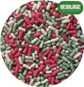 HERITAGE FLOATING POND MIXED STICKS 15L KOI GOLD FISH FOOD 15 LITRES BAG FEED