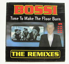 BOSSI...TIME TO MAKE THE FLOOR BURN remixes...MAXI 33T