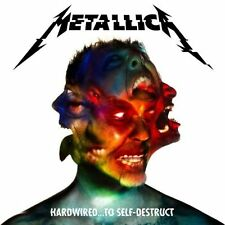 Hardwired to Self-destruct Metallica 2 CD Set EAN 602557156263 Heavy Metal