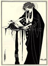 SALOME, 1894 by Aubrey Beardsley Vintage Giclee Canvas Print 20x27