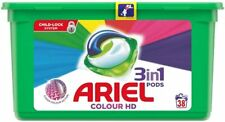 Ariel 3 in 1 Washing Pods Colour HD - 38 Washes