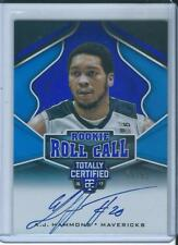 2016-17 Totally Certified Rookie Roll Call Auto A.J Hammonds /99