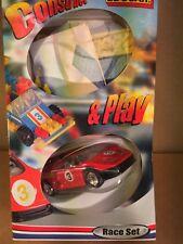 EDOCAR  Consstruct & Play 3inch Race Set  en bouwpakket van een Race Wagen