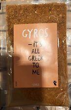 Unavailable Greek 🇬🇷 Gyros seasoning.