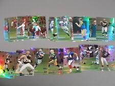 (23) Different 1999 Stadium Club Refractor lot  Football