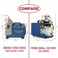 YONG HENG 30MPa 110V Air Compressor Pump PCP Electric 4500PSI High Pressure USA