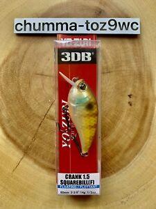 Yo-Zuri 3DB Crank 1.5 Squarebill Crankbait, Bass Fishing, Free Shipping! (NWT!)