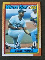 MINT CENTERED 1990 Topps Frank Thomas ROOKIE RC Baseball Card #414 MT