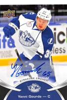 2015-16 Upper Deck AHL Inserts (Autographs Tattoos and Stickers) Pick From List